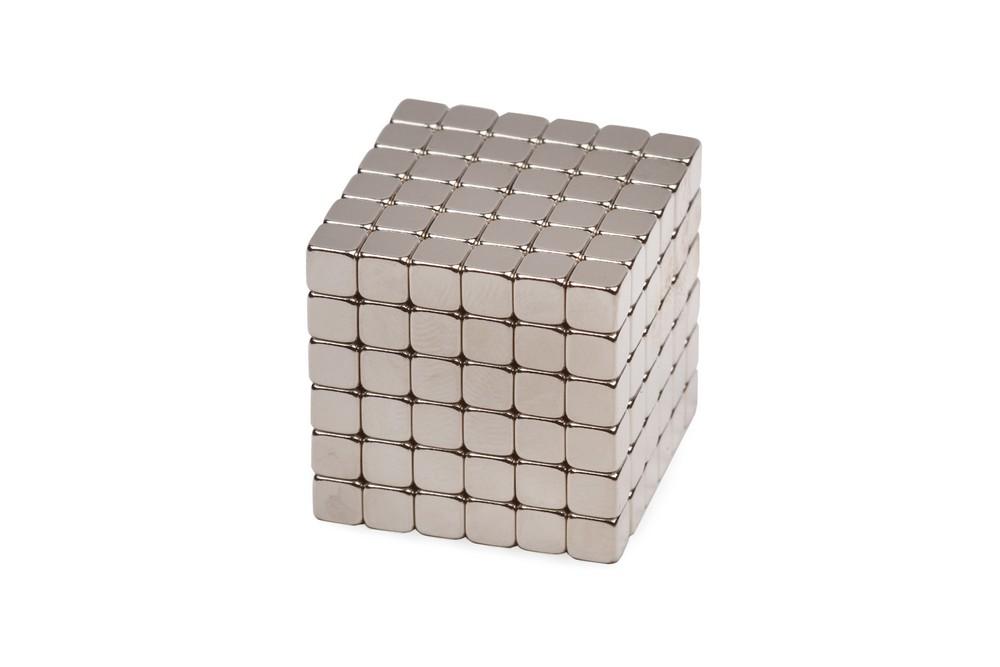 Forceberg TetraCube - куб из магнитных кубиков 7 мм, стальной, 216 элементов в Новосибирске