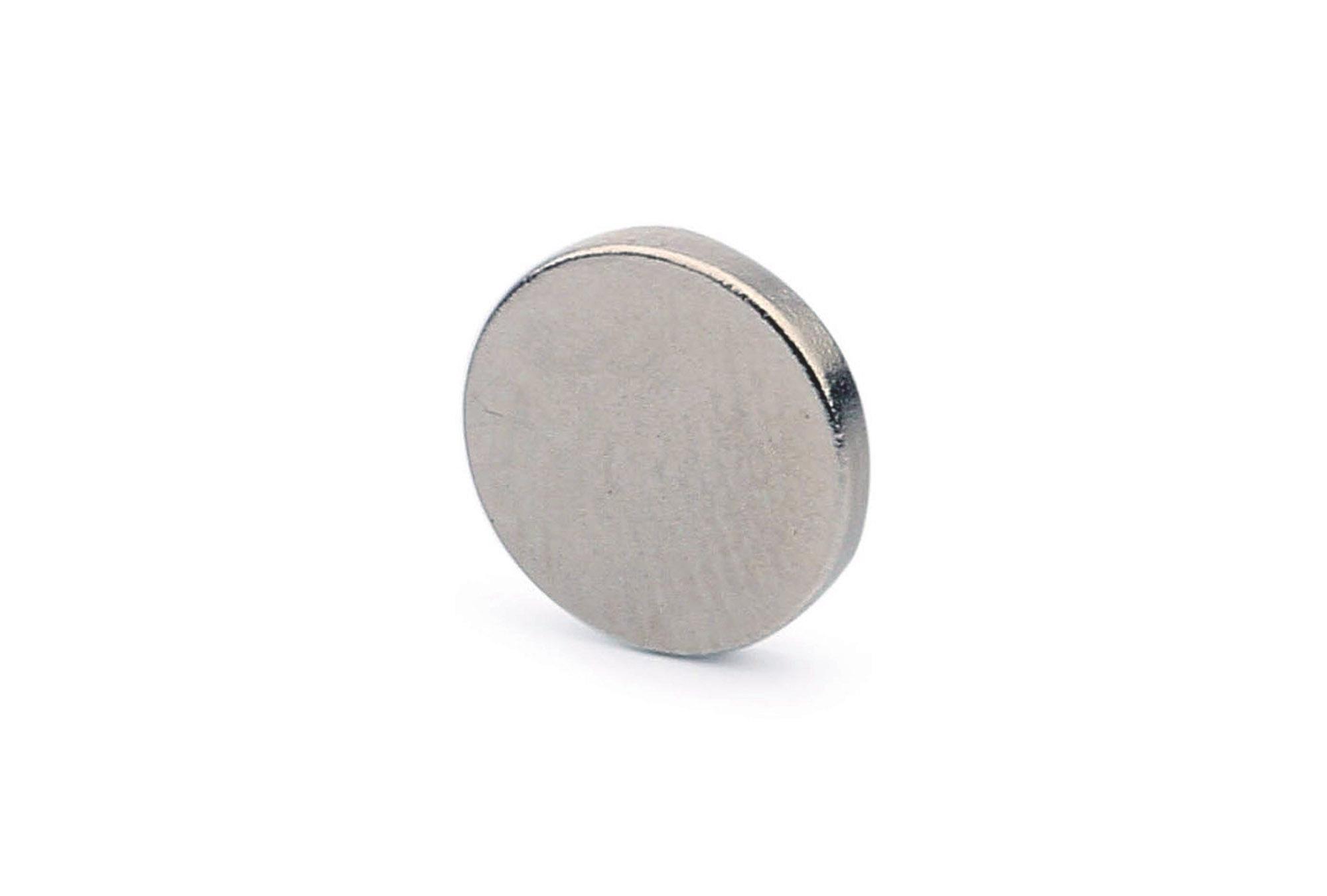 Мир Магнитов Неодимовый магнит диск 9х1.5 мм