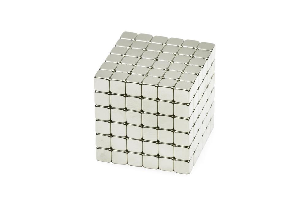 Forceberg TetraCube - куб из магнитных кубиков 4 мм, жемчужный, 216 элементов в Перми