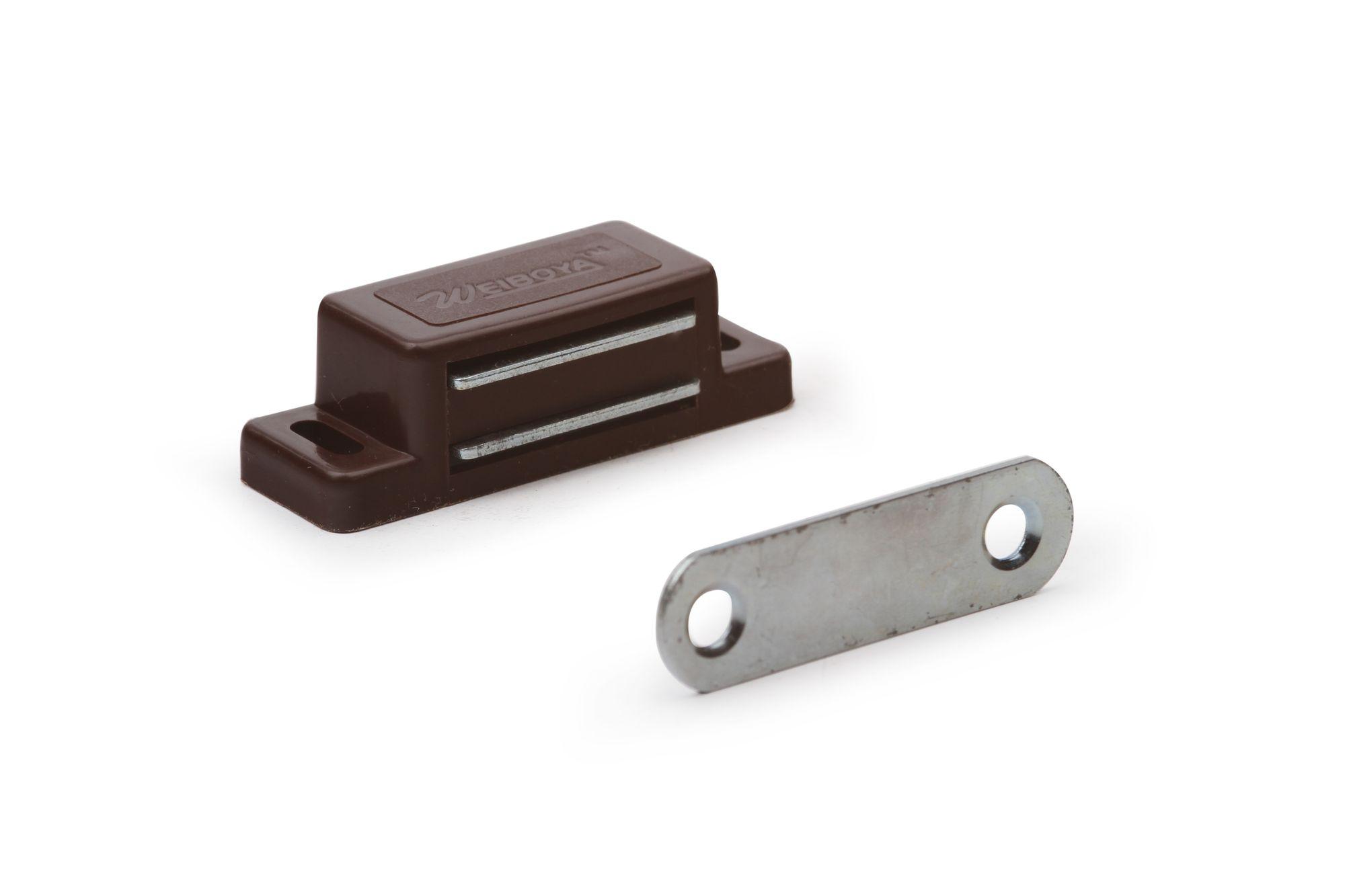 Мебельный магнит (коричневый)