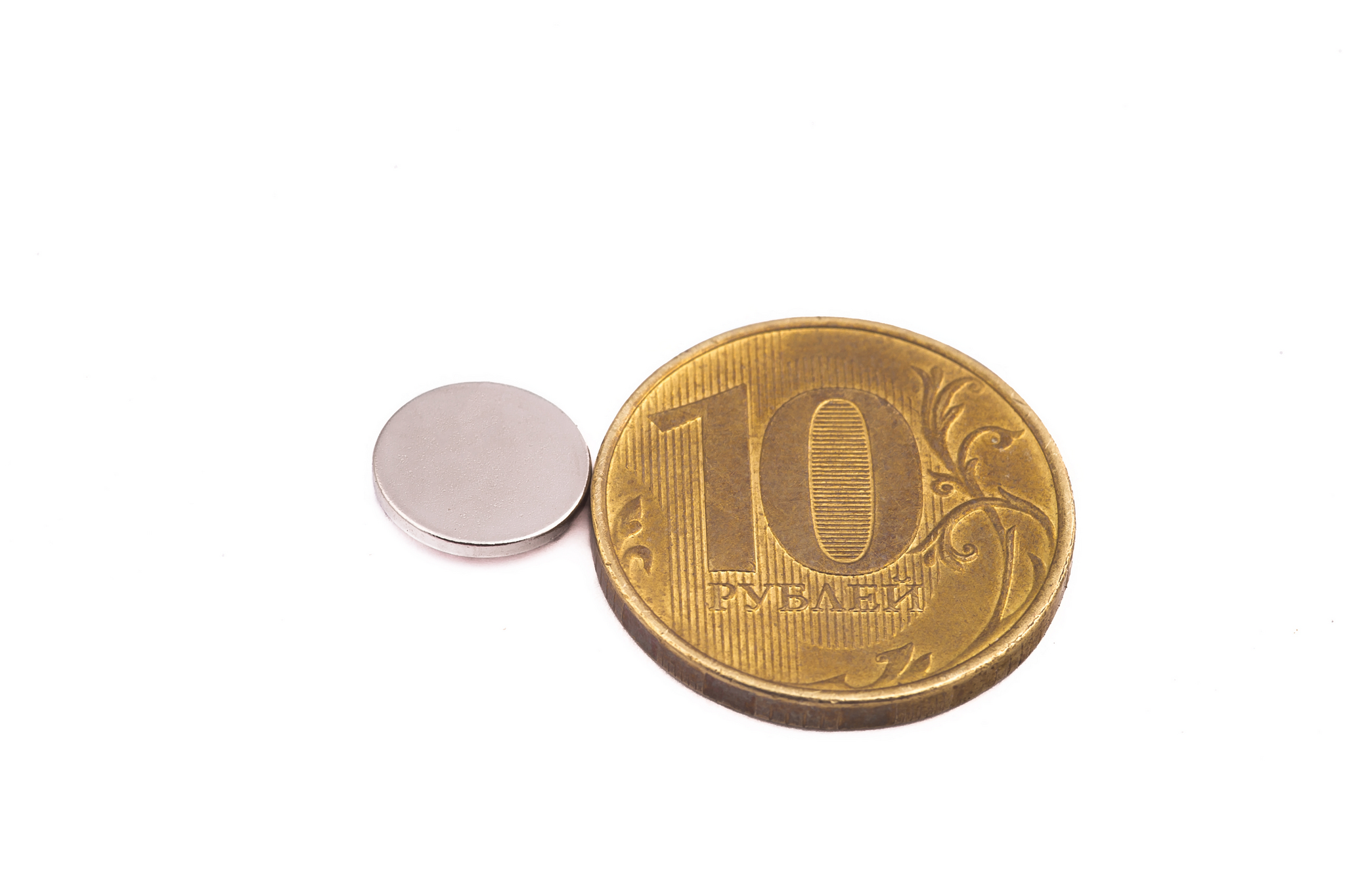Мир Магнитов Неодимовый магнит диск 10х1 мм