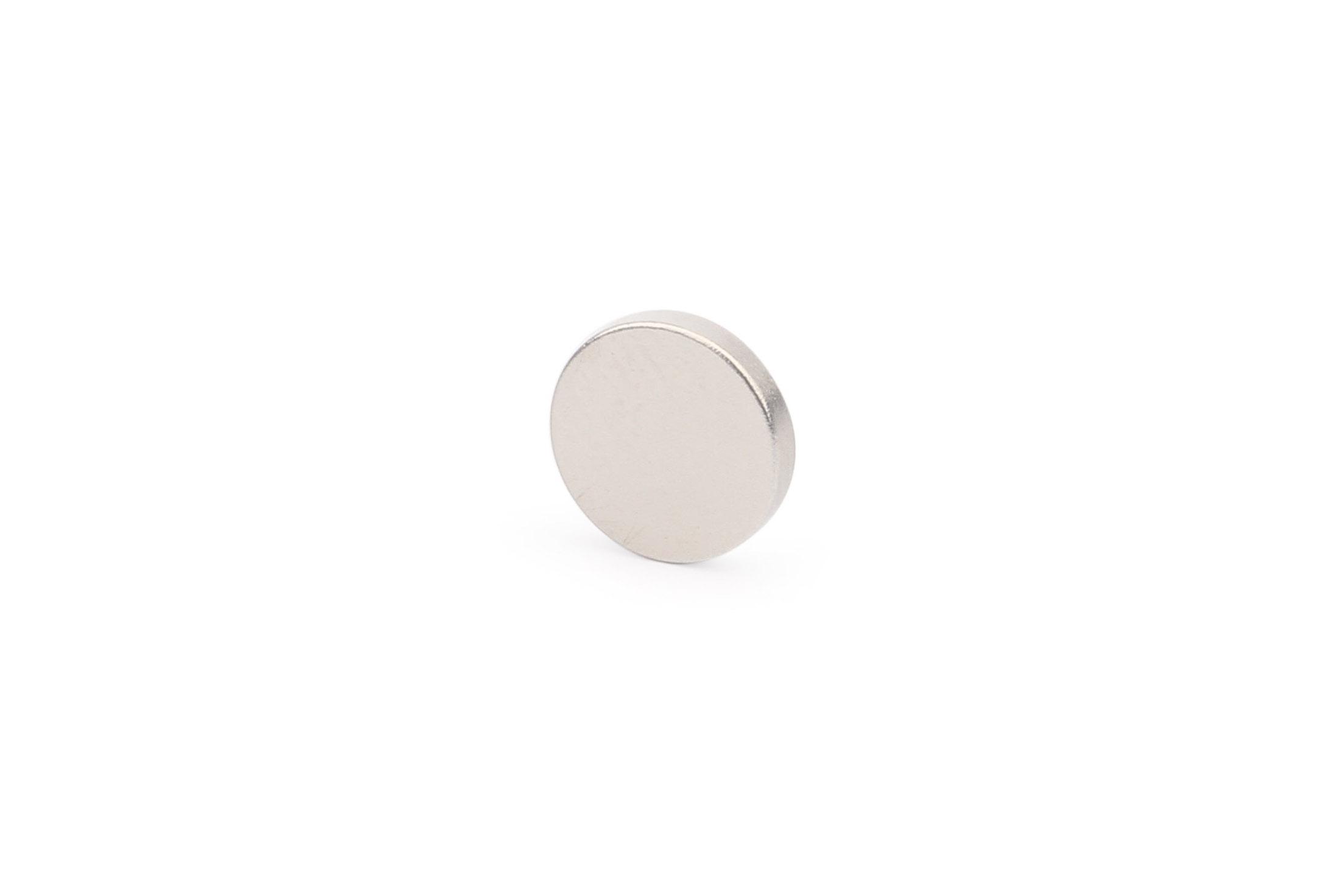Неодимовый магнит диск 8х1.5 мм