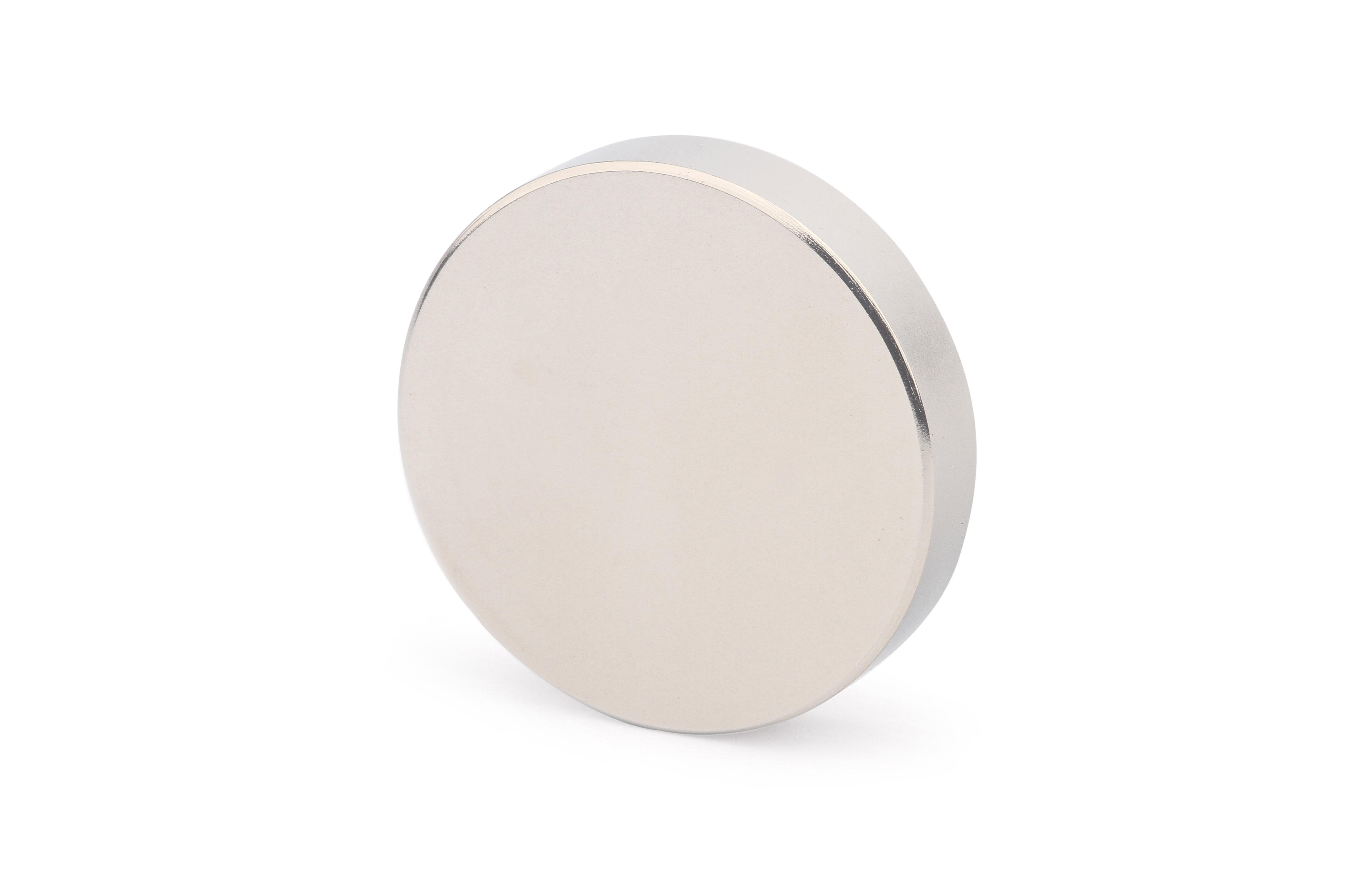 Неодимовый магнит диск 50х10 мм