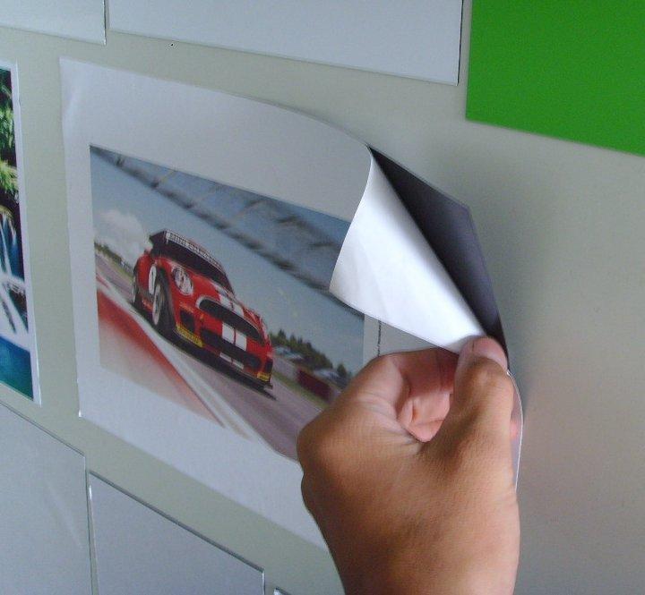 Фото бумага с магнитом