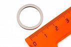 Неодимовый магнит кольцо 20х16х1.25 мм, N33