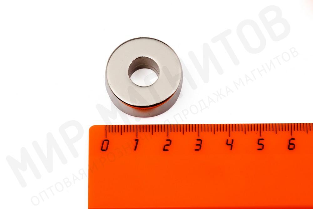 Неодимовый магнит кольцо 25х10х10 мм, N35 в Ижевске
