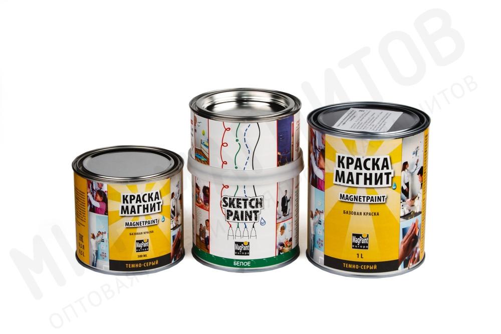 Набор красок Magpaint для магнитно-маркерной стены, глянцевое, 3 м² в Барнауле