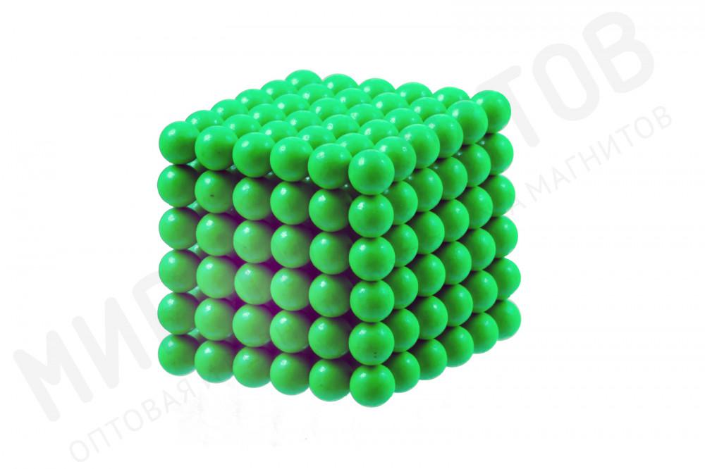 Forceberg Cube - куб из магнитных шариков 6 мм, светящийся в темноте, 216 элементов в Москве