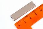 Неодимовый магнит прямоугольник 40х10х2 мм, N33
