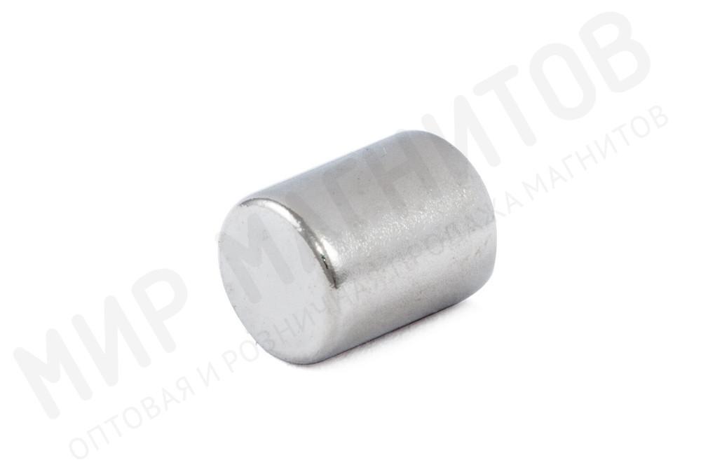 Неодимовый магнит пруток 5х6.5 мм, N35 в Липецке