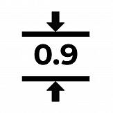 Магнитный винил толщиной 0.9 мм