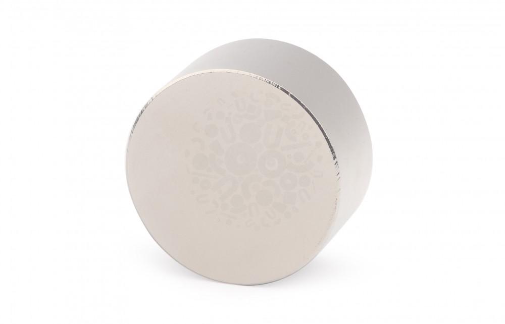Неодимовый магнит диск 40х20 мм, N45 в Ставрополе