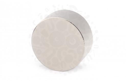 Неодимовый магнит диск 40х20 мм (N45) в Самаре