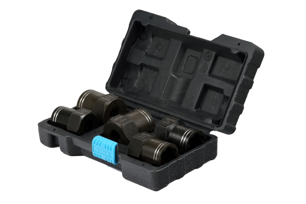 Набор торцевых головок экстракторов 1/2 дюйма для поврежденных болтов и гаек 19-26 мм, 5 предметов в Иваново