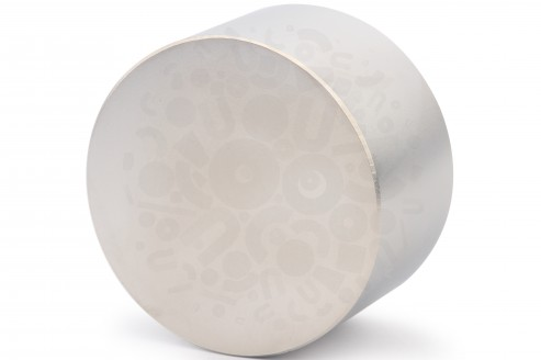 Неодимовый магнит диск 90х50 мм в Воронеже