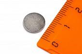 Неодимовый магнит диск Forceberg 10х1 мм, 50 шт