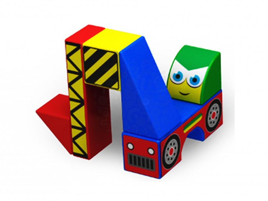 Магнитные детские кубики Magneticus 8 элементов Техника в Симферополе