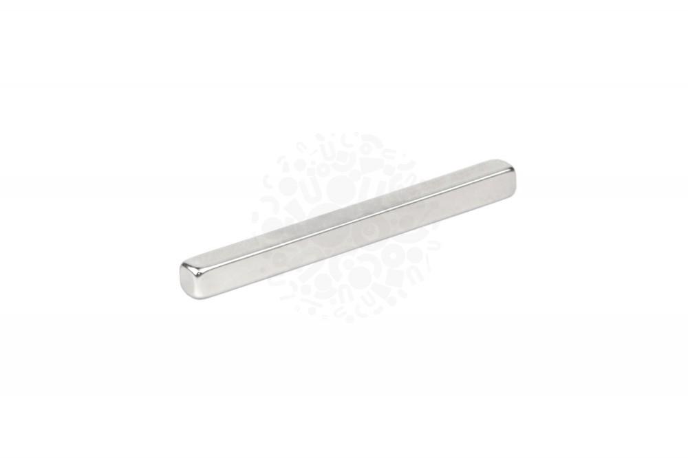 Неодимовый магнит прямоугольник 5х5х60 мм N45
