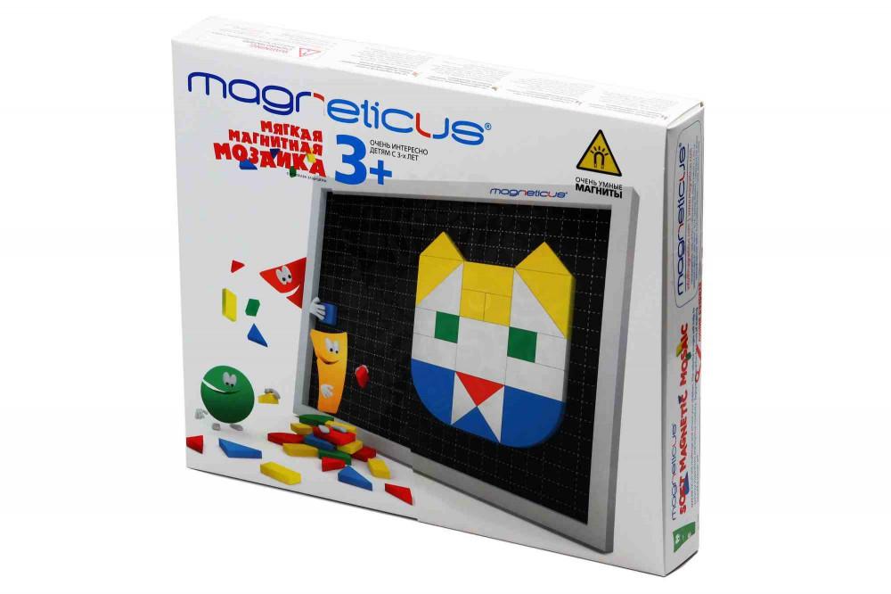 Конструкторы Мозаика Magneticus 3+ 145 элементов (5 цветов) в Самаре