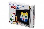 Конструкторы Мозаика Magneticus 3+ 145 элементов (5 цветов)