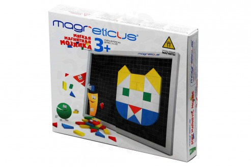 Конструкторы Мозаика Magneticus 3+ 145 элементов (5 цветов) в Уфе