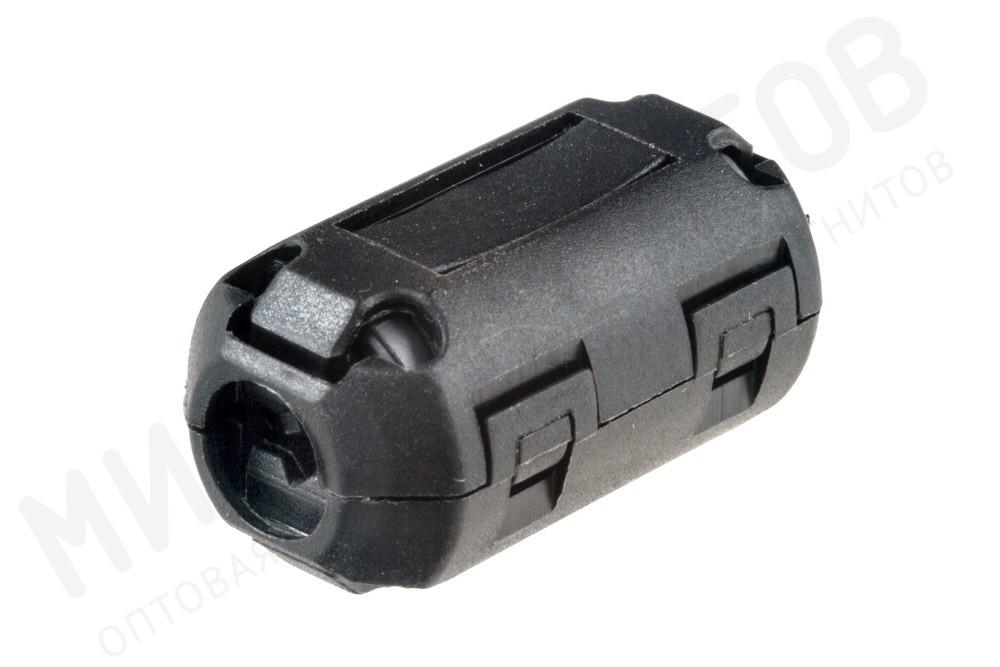 Ферритовый фильтр на кабель с защелкой ZCAT1325-0530A-BK, черный в Белгороде