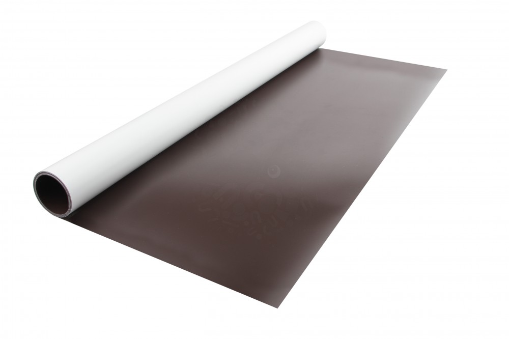 Магнитный винил с ПВХ слоем, лист 0.62х1 м, толщина 0.25 мм в Ярославле