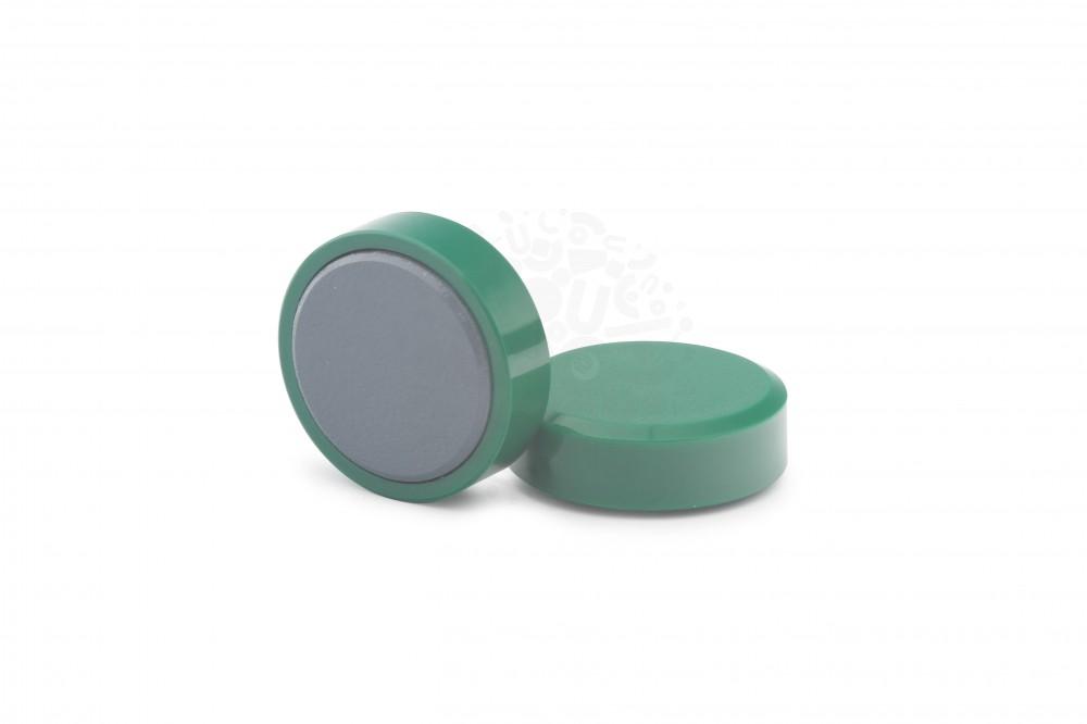 Магнит для доски круглый D30 мм, зелёный в Симферополе