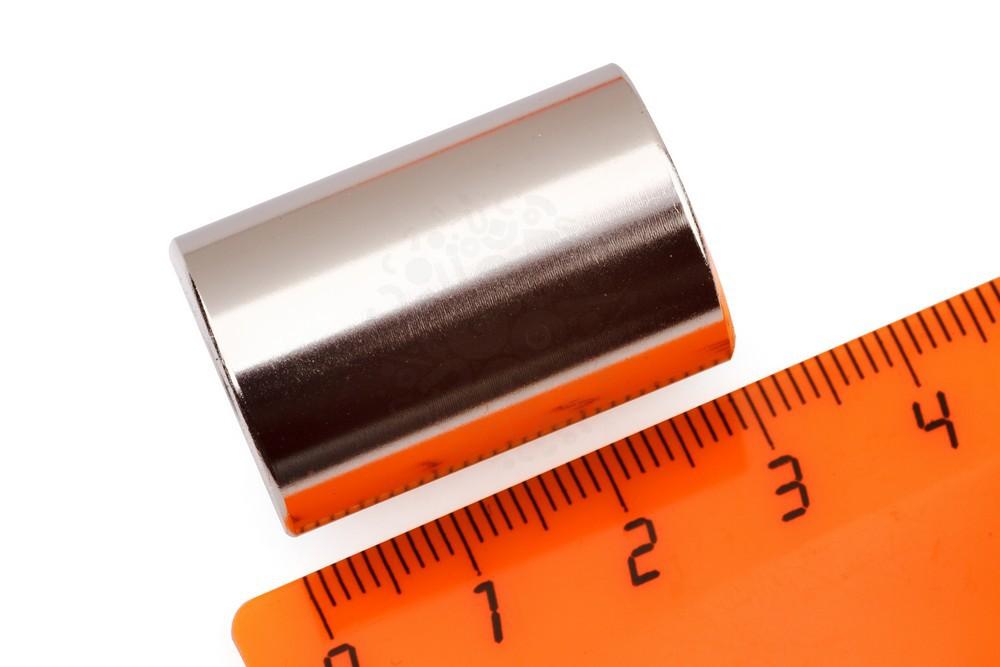 Неодимовый  магнит кольцо  20х6х30 мм, N33EH в Москве
