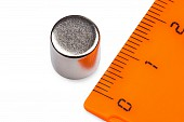 Неодимовый магнит - диск 10х10мм, 4шт, Forceberg