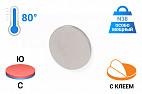 Неодимовый магнит диск 15х1 мм с клеевым слоем