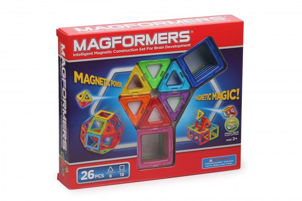 Конструктор Magformers 26 элементов в Новосибирске
