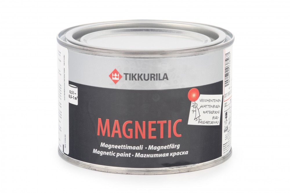 Магнитная краска TIKKURILA MAGNETIC в Санкт-Петербурге