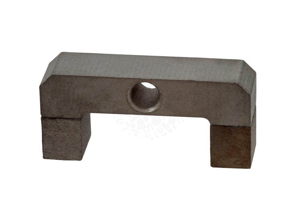 Магнит подкова самарий-кобальт 31х19х14х8.8 мм с отверстием в Саратове