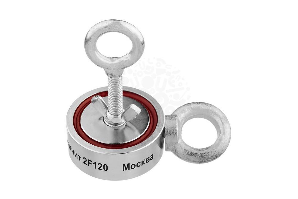 Поисковый магнит двухсторонний Непра F120х2, сила сц. 120 кг в Иваново