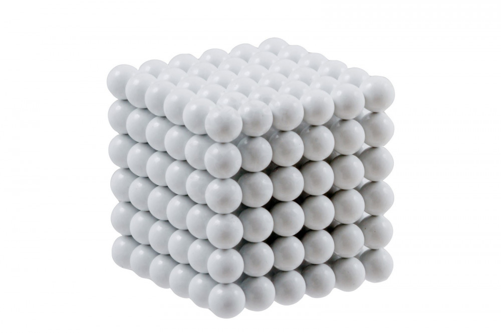 Forceberg Cube - куб из магнитных шариков 6 мм, белый, 216 элементов в Иваново