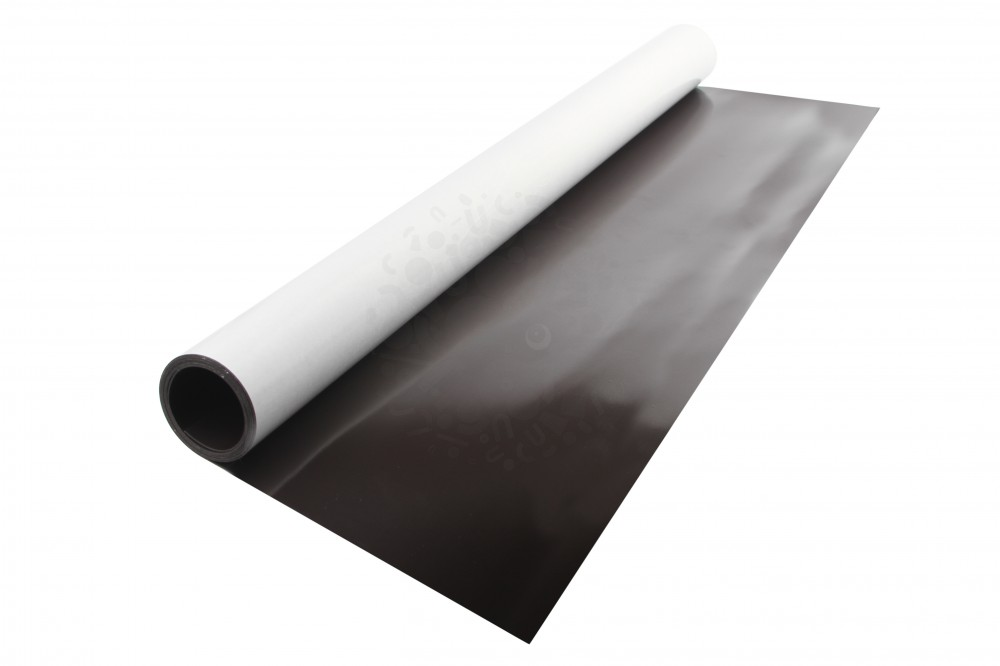 Магнитный винил с клеевым слоем, лист 0.62х1 м, толщина 0.7 мм в Казани