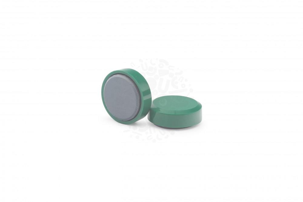 Магнит для досок круглый D20 мм, зелёный в Саратове