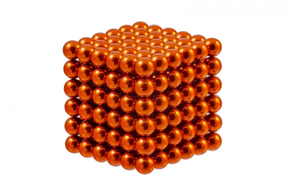 Forceberg Cube - куб из магнитных шариков 5 мм, оранжевый, 216 элементов в Саратове