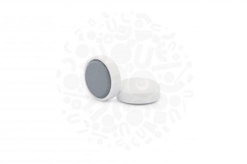 Магнит для досок круглый D20 мм, белый в Уфе