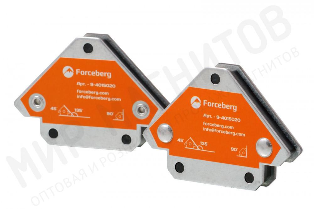 Усиленные магнитные уголки для сварки и монтажа для 3 углов Forceberg, усилие до 12.5 кг, 2 шт в Белгороде