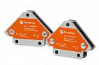 Усиленные магнитные уголки для сварки и монтажа для 3 углов Forceberg, усилие до 12.5 кг, 2 шт