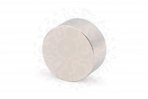 Неодимовый магнит диск 30х15 мм в Москве
