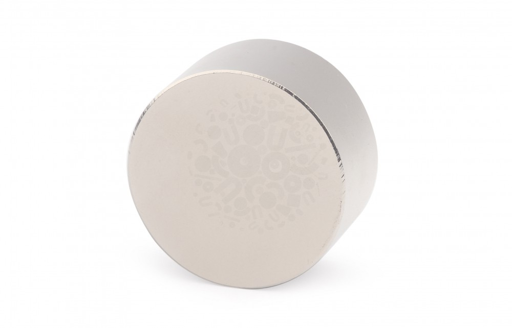 Неодимовый магнит диск 40х20 мм в Воронеже