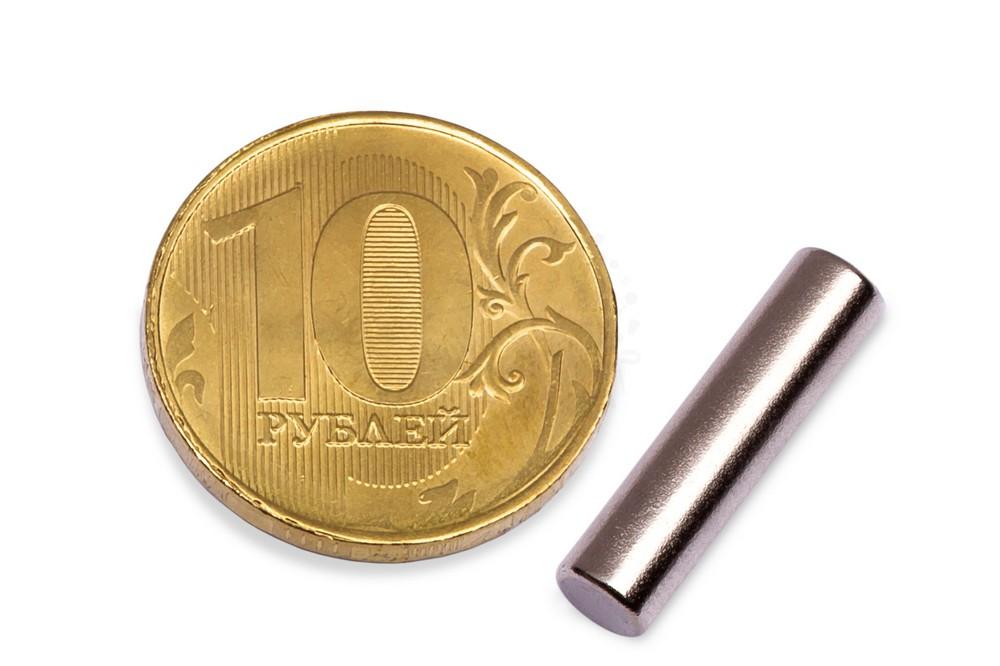 Неодимовый магнит пруток 5х20 мм в Петропавловске-Камчатском