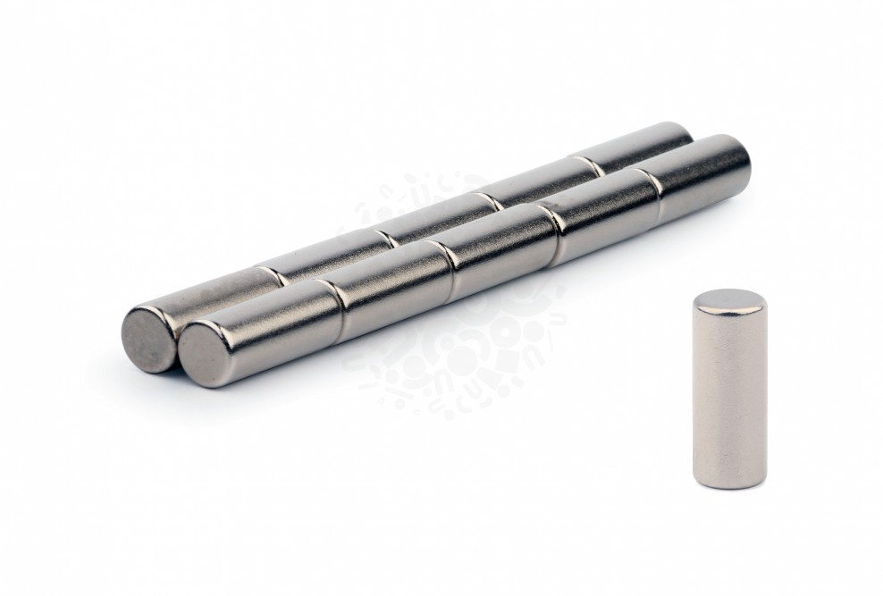 Неодимовый магнит пруток 8х20 мм