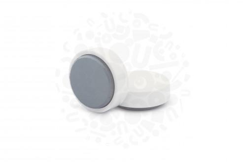 Магнит для досок круглый D30 мм, белый в Самаре