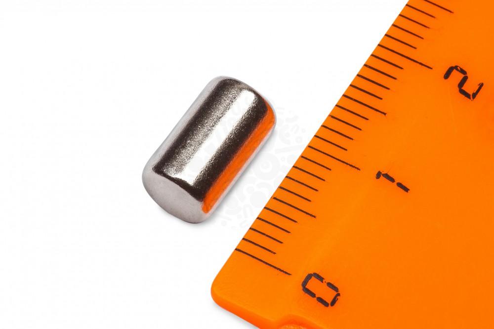 Неодимовый магнит - пруток 6х10мм, 10шт, Forceberg