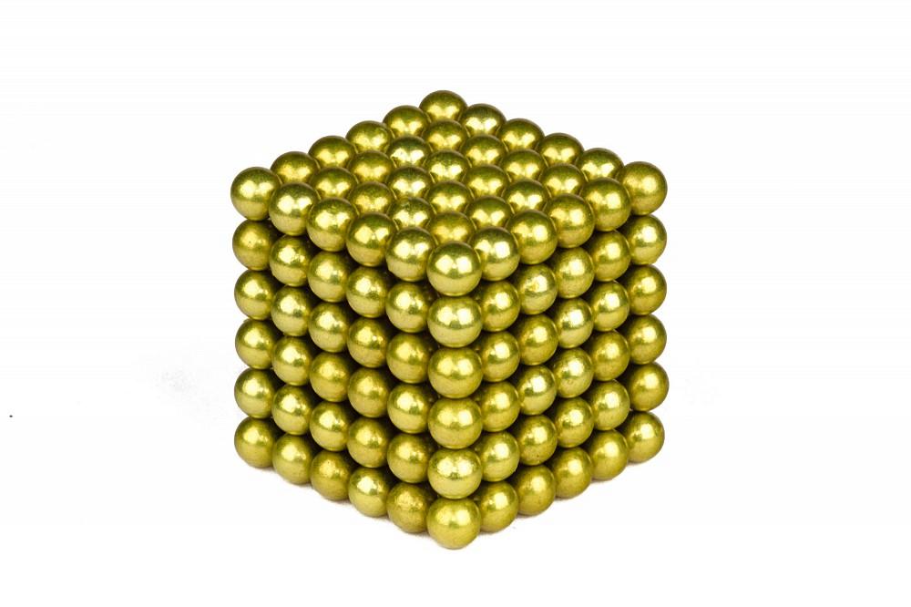 Forceberg Cube - куб из магнитных шариков 5 мм, оливковый, 216 элементов в Москве