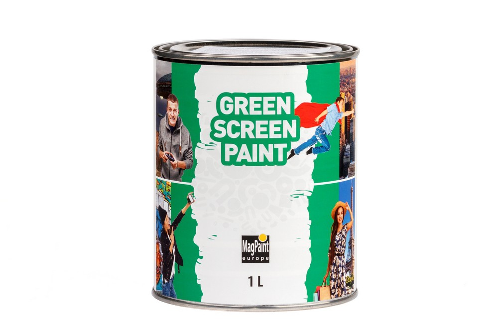 Краска для создания хромакея GreenscreenPaint 1 литр, на 5 м² в Воронеже